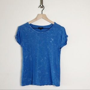 Joe's Jeans Cold Shoulder Stone Washed T Shirt